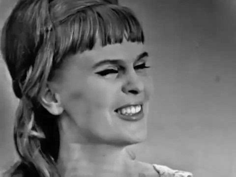 Вероника Круглова Ничего не вижу, Голубой огонек 1966 год
