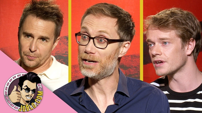 Sam Rockwell, Stephen Merchant Alfie Allen Interview for JoJo Rabbit