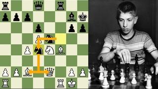 ¿QUÉ TAN BUENO ERA BOBBY FISCHER A LOS 12 AÑOS?: Thomason vs Fischer (Campeonato Juvenil EEUU, 1955)