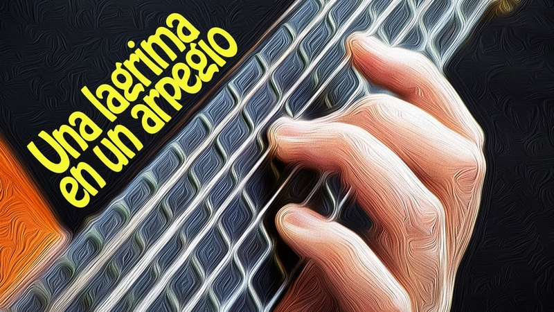UNA LAGRIMA EN UN ARPEGIO Spanish Classical Baritone Guitar Ramirez Fingerstyle