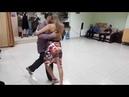 Alex Vitaly Maria Vlady. Tango class resume sacadas. 09.03.2019