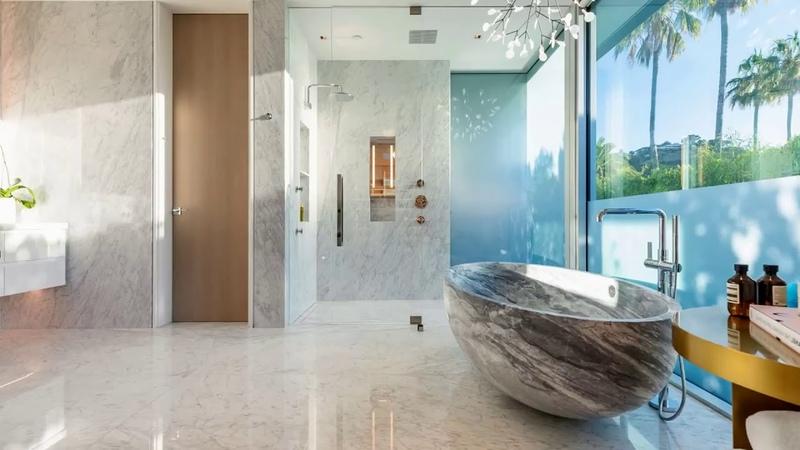 Внутренний дизайн особняка на Беверли Хиллз за 60 миллион долларов Дизайн интерьера внутри дома