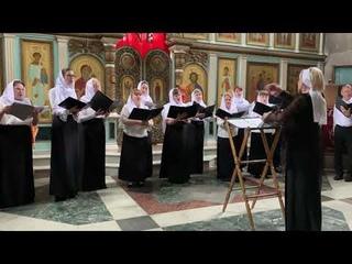 Архиерейский хор Кафедрального собора преподобного Сергия Радонежского г.Югорск
