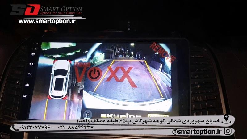 آپشن سانتافه 2012- مانیتوراندروید و دوربین 360 در