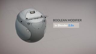 Boolean Modifier  | Hard-surface Modeling Update