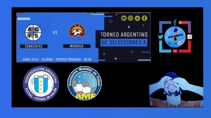 ⚽Futsal CAFS ⚽Noches de Futsal 📡MENDOZA VS CORRIENTES🎧
