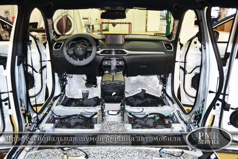 Шумоизоляция Mazda CX-9, изображение №5