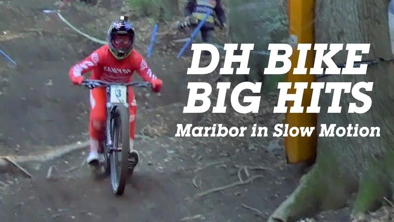 DOWNHILL MTB Big HITS - Maribor World Cup DH Timewarp
