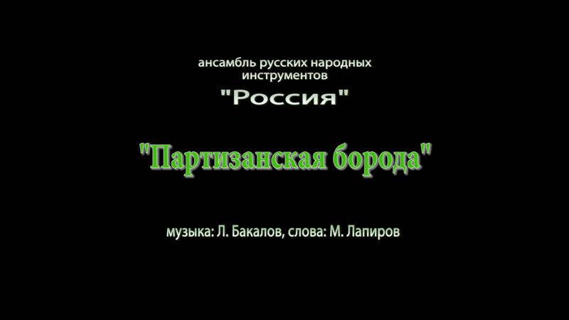 Партизанская борода АРНИ Россия