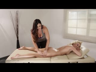 Alison Tyler and Aaliyah Love lesbians, massage, big tits, blonde, bubble butt, big ass, pussy licking, лесби, porn, sex