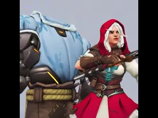 What big teeth you have! - - Grab your riding hood and suit up as Little Red Ashe Le