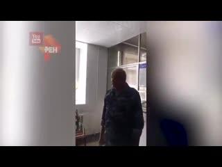 Принципиальный охранник жестко выставил студентку, забывшую пропуск