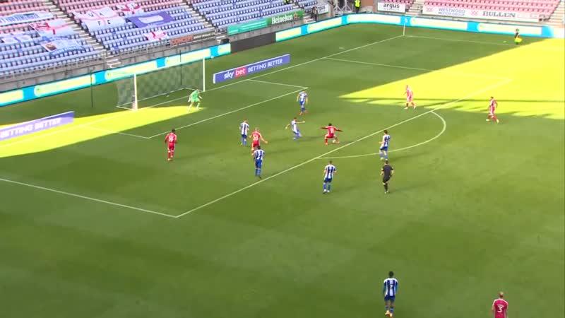 First goal in League Football Trae Coyle