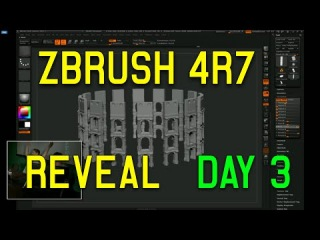 ZBrush 4R7 64bit REVEAL DAY 3 (Full Demo HD)
