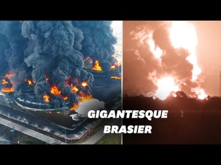 Incendie massif dans l'une des plus grandes raffineries d'Indonésie
