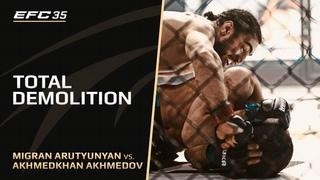Нокаут от бойца из Армении | МИГРАН АРУТЮНЯН vs АХМЕДХАН АХМЕДОВ
