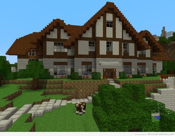 картинки красивых домов в майнкрафте #8