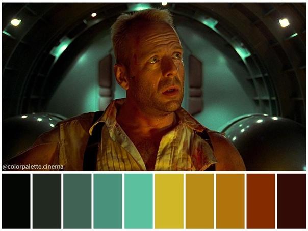 Цветовая гамма фантастического боевика «Пятый элемент» режиссер Люк Бессон