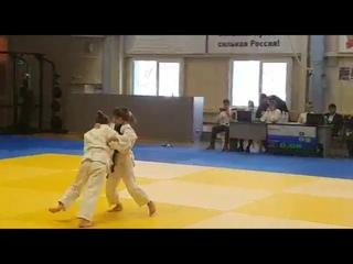 Отважная борьба нашей воспитанницы на соревнованиях по дзюдо г.Кемерово