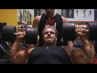 Jay Cutler Trains Shoulders (2007)