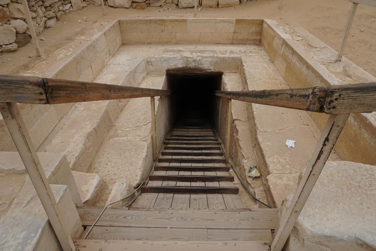 Пирамида Тети в Саккаре