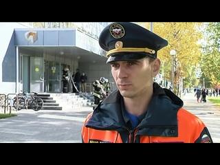 НовостиХМ: Пожарно-тактические учения в медицинской академии Ханты-Мансийска