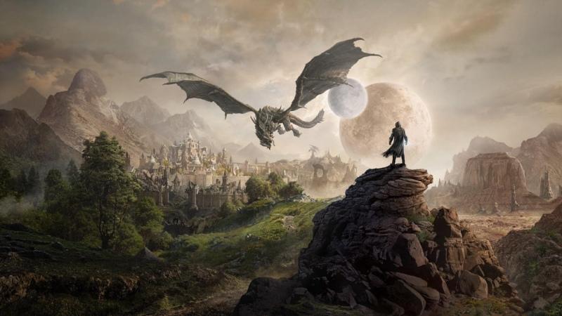 The Elder Scrolls V Skyrim Dragonborn - Gondola