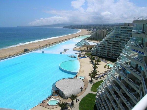 Самый большой в мире бассейн на чилийском курорте Сан-Альфонсо-дель-Мар, изображение №6