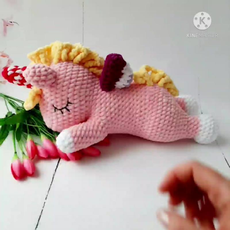 Обзор игрушки Спящий Единорог