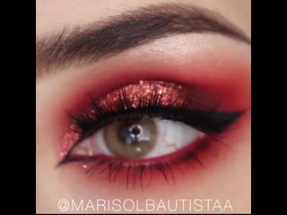Роскошный макияж глаз
