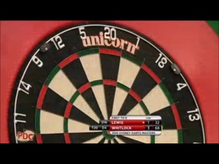 Adrian Lewis vs Simon Whitlock (Sydney Darts Masters 2015 / Round 1)