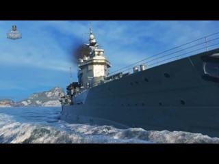 Warspite непотопляемый. Первый британский линкор в World of Warships