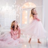 Платье для мамы и дочки - SpringFlower.
