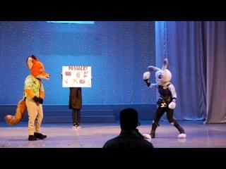 . Jet Set Cosplay Team - Konda, linochka - Зверополис - Ник Уайлд, Джуди Хопс - Калуга (экшн-дефиле)
