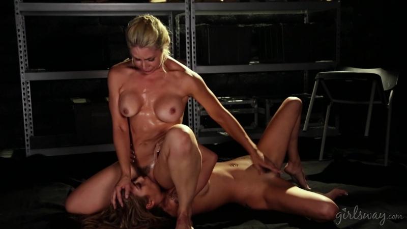 Sarah Vandella, Kat Dior (Extradition: Part Three / 2017-01-26) [Big Tits, Fetish, Tattoos, Squirting,  Lesbian] [1080p]