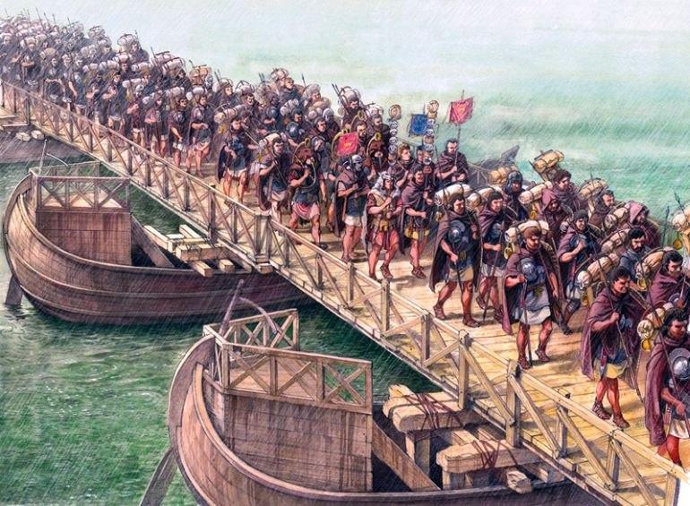 Римская инженерия наглядно.