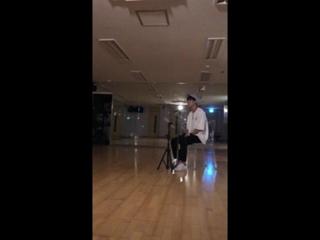 SNS: 180819 @ Видео с фанкафе группы