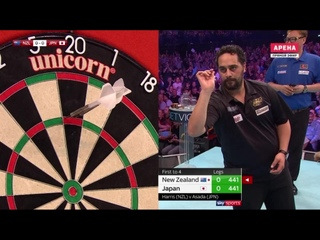New Zealand vs Japan (PDC World Cup of Darts 2019 / Quarter Final)