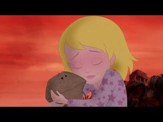 """ОЛЕГ СНЕГОВ озвучил песню """"КАМУШКА """" в французском мультфильме ЭМИЛИ ЖОЛИ"""