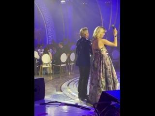 Ольга Шелест и Николай Басков ведущие свадьбы