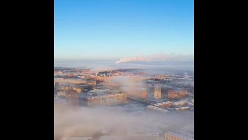 Утренний туман в Туле