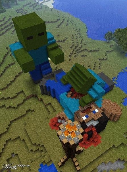 Картинки из игры майнкрафт