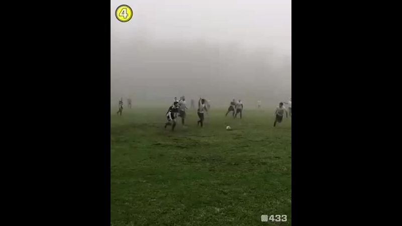 Мокрый футбол
