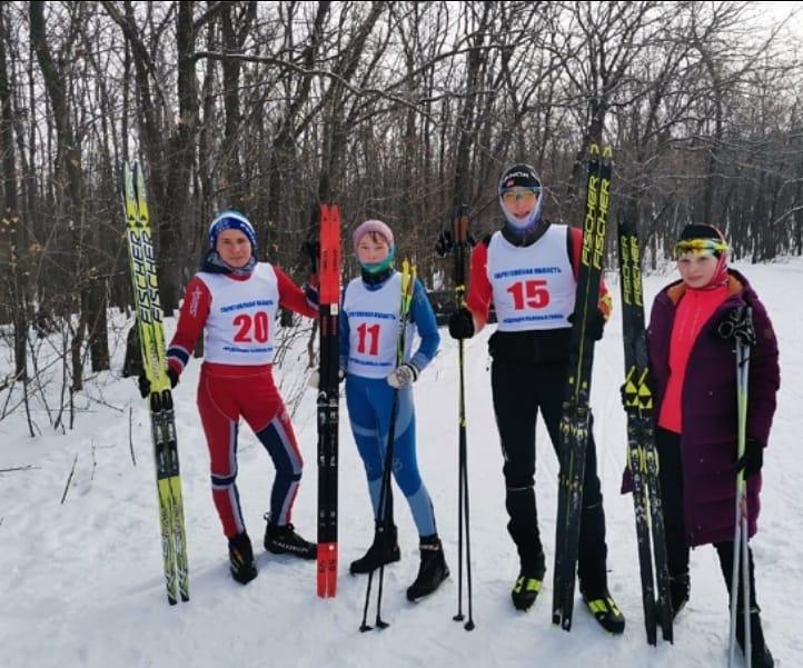 Петровские спортсмены приняли участие в первенстве Саратовской области по лыжным гонкам