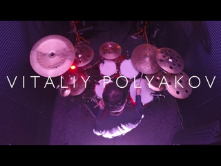 Cloudberry band - Another Day (Drum playthrough by Vitaliy Poliakov)