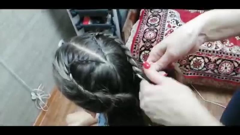 Акулова Анжелика Мастер класс по причёскам