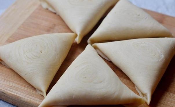 Самса узбекская слоеная в духовке