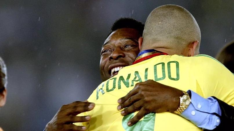 Роналдо обошел Пеле в опросе на лучшего бразильского футболиста в истории по версии