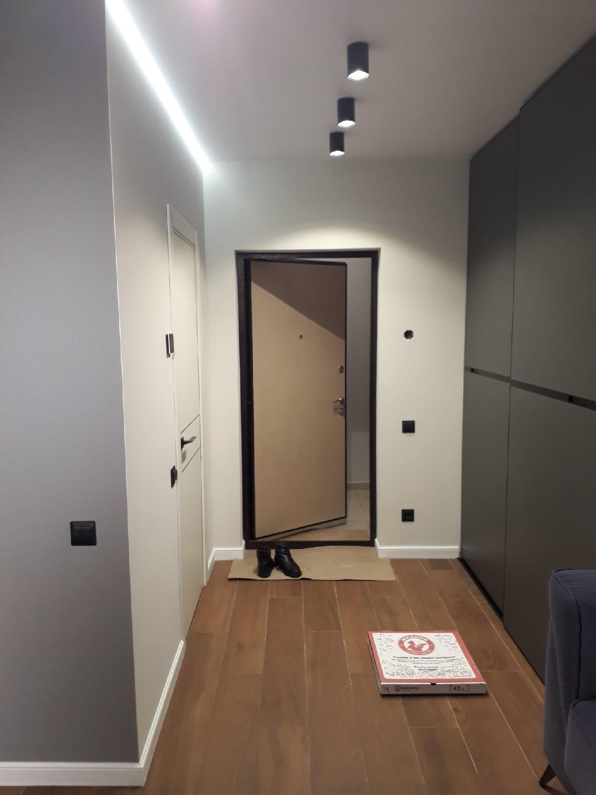 Как Вам эта маленькая студия 21 кв.