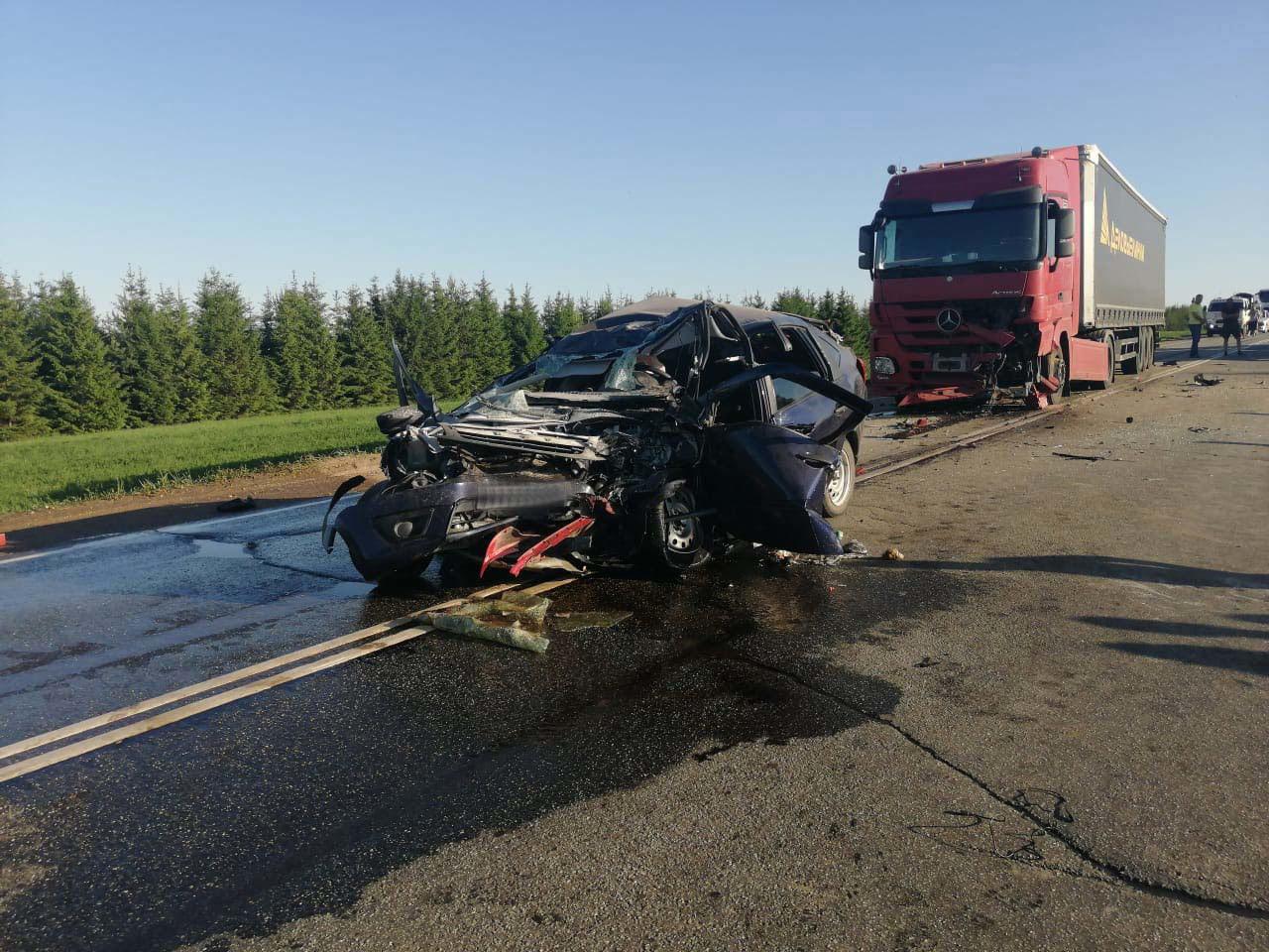 Страшная трагедия произошла вчера в Можгинском районеОколо